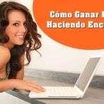 Gana Dinero en Perú Haciendo Encuestas ¡¡MÁS DE 1000$ AL MES!!