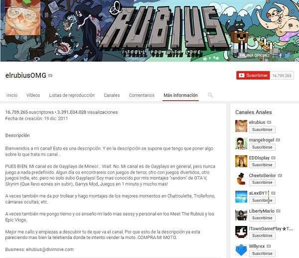 ganar dinero con youtube el rubius