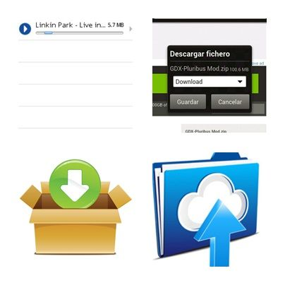 descargar archivos grandes y pesados