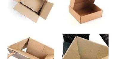 trabajos desde casa ensamblando cajas